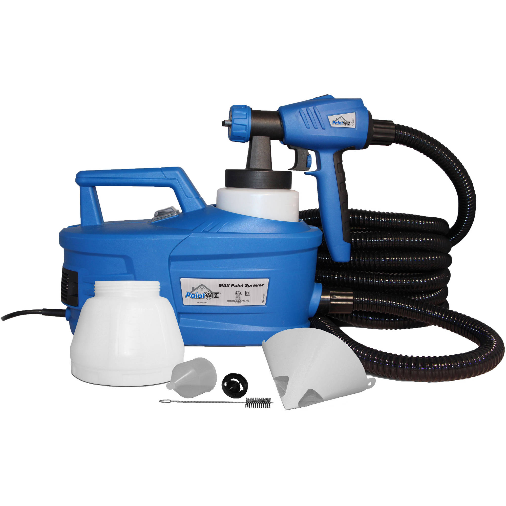 PaintWIZ MAX Paint Sprayer, PW25000 HVLP Spray Gun Spray System