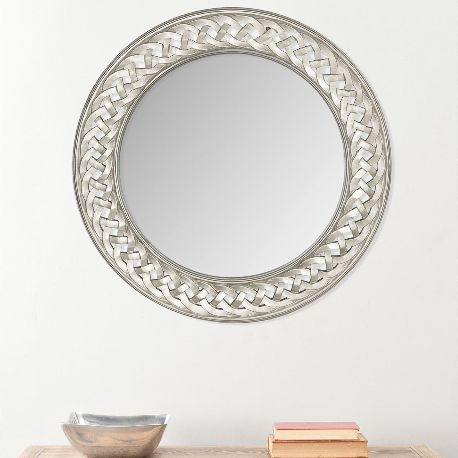 Safavieh Braided Chain Mirror, Multiple Colors
