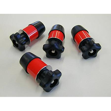 Set of (4) Polaris Lock & Ride Type Knob Anchor Kit for Ranger UTV's