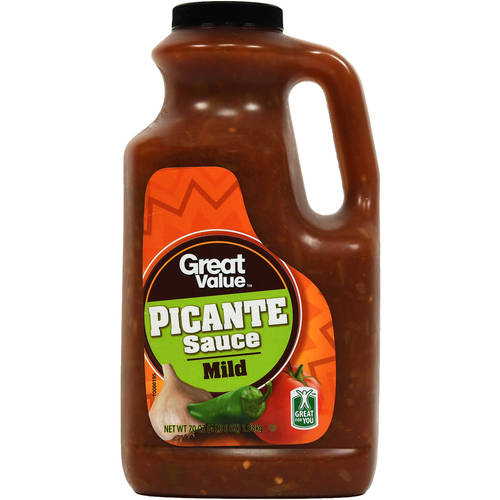 Great Value Mild Picante Sauce, 70 oz