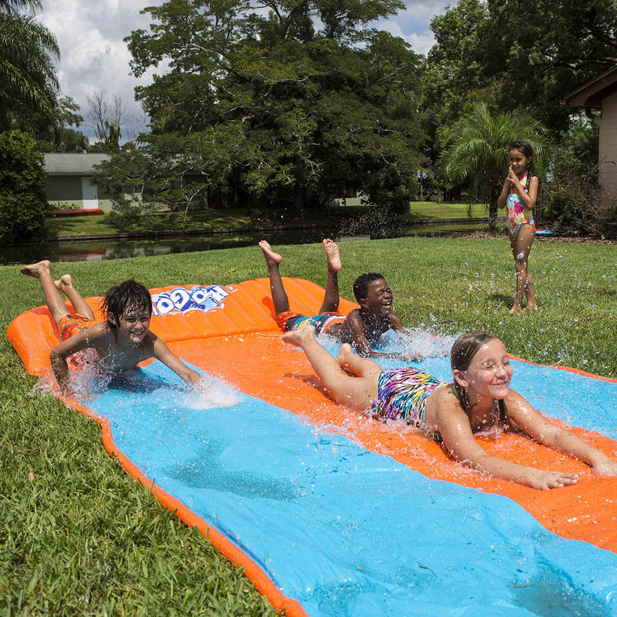 H2O Go Water Slide, Triple Lane