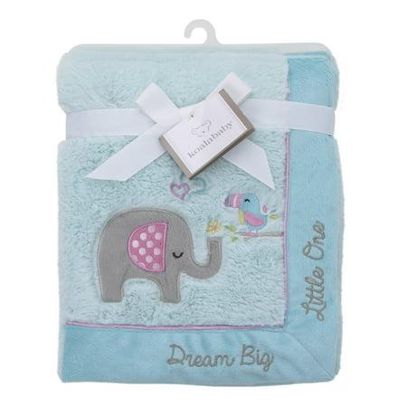 Koala Baby Aqua Elephant Quot Dream Big Little One Quot Cuddle