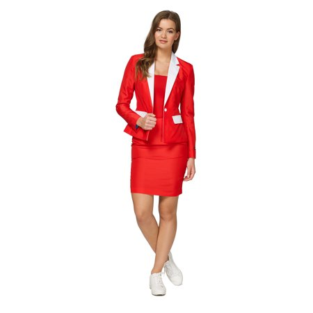 Mens Santa Outfit (Suitmeister Women's Santa Outfit Christmas)