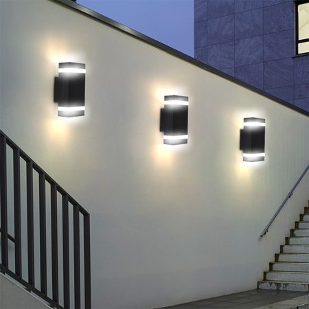 Ejoyous 1pc Double Up And Down Wall Light Indoor Outdoor