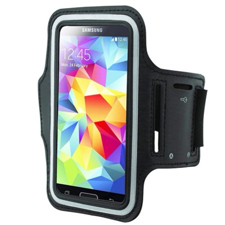 Armband Sports Gym Workout Cover Case Running Arm Strap Band M4G for Nokia Lumia Icon 930 928 830 - Pantech Discover, Perception - Samsung L500, Galaxy Z Win Sol Sky, ATIV SE, S6 Edge