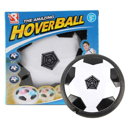 LED Flashing Ball Toy Air Power Soccer Ball Disc Indoor Football Hovering Toy