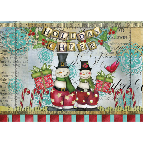 Lang Snowman Friends Petite Christmas Cards