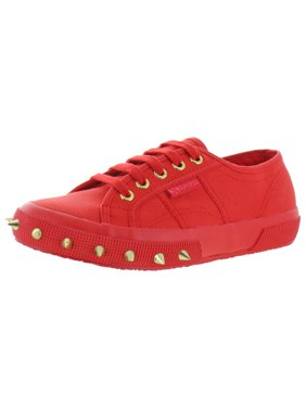 Superga Womens 2750 Cotton Studded Sneakers