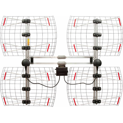Antennas Direct DB8e Extreme Range Multi-Directional Bowtie UHF Antenna