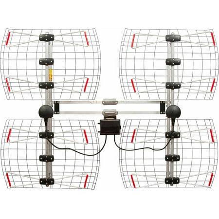 Antennas Direct Db8e Extreme Range Multi Directional Bowtie Uhf Antenna
