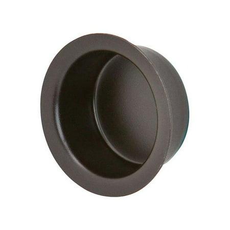 Ives 5002125 1 in. Oil Rubbed Bronze Brass Door Finger Pull ()