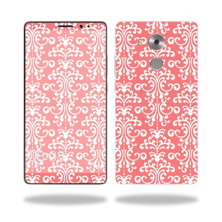 Skin Decal Wrap for Huawei Mate 8 cover sticker skins Coral Damask