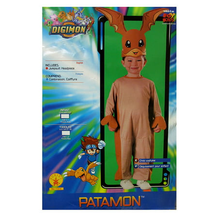 Rubie's Kids 'Digimon Patamon' Halloween Costume, Pink/Orange, Infant](Digimon Costumes For Sale)