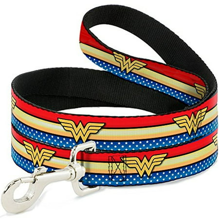 Buckle Down DC Comics Pet Dog or Cat Leash Dc 40 Dog Tracking
