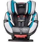 evenflo symphony lx all in one convertible car seat jordan. Black Bedroom Furniture Sets. Home Design Ideas