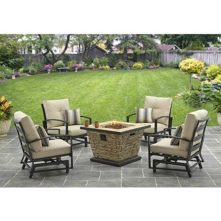 Better Homes And Gardens Sandridge 5 Piece Slat Back Gas