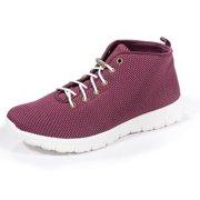 Zee Alexis Womens Kerrigan High Top Sneakers Burgundy 8.5 M