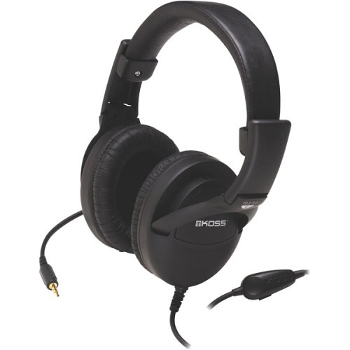 Koss 165789 Noise Reduction Headphones With Leatherette Over-the-ear Folding Design by Koss
