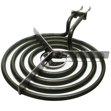 Replacement Admiral 1068F-CZ 6 inch 4 Turns Surface Burner Element - Compatible Admiral 660532 Heating Element for Range, Stove & Cooktop - image 3 de 4