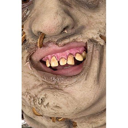 Leatherface Prosthetic Teeth](Sfx Prosthetics)