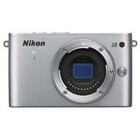 Nikon 1 J2 10.1 MP HD Digital Camera (Silver) Body Only