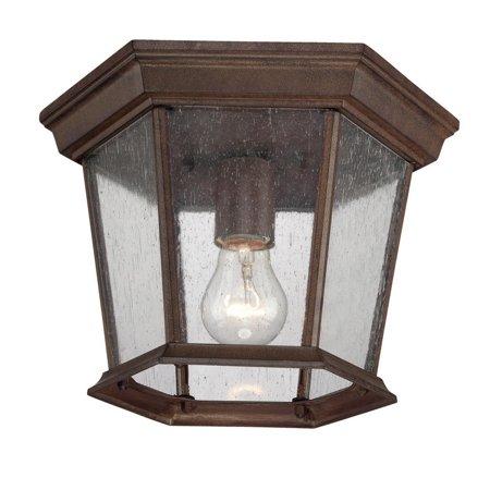 Acclaim Lighting - 5275BW - One Light Outdoor Ceiling Mount - Dover - Burled Walnut