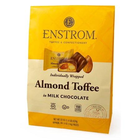 Product of Enstrom Candies Almond Toffee in Milk Chocolate, 22 oz. [Biz Discount]