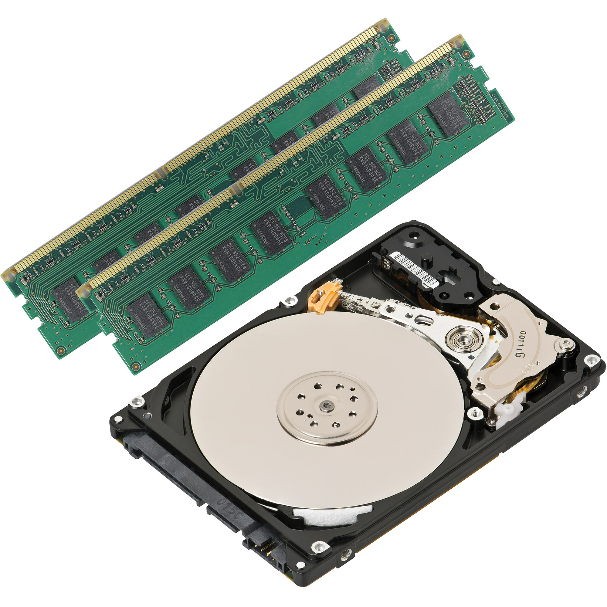 8GB DDR3 + 1TB Hard Drive