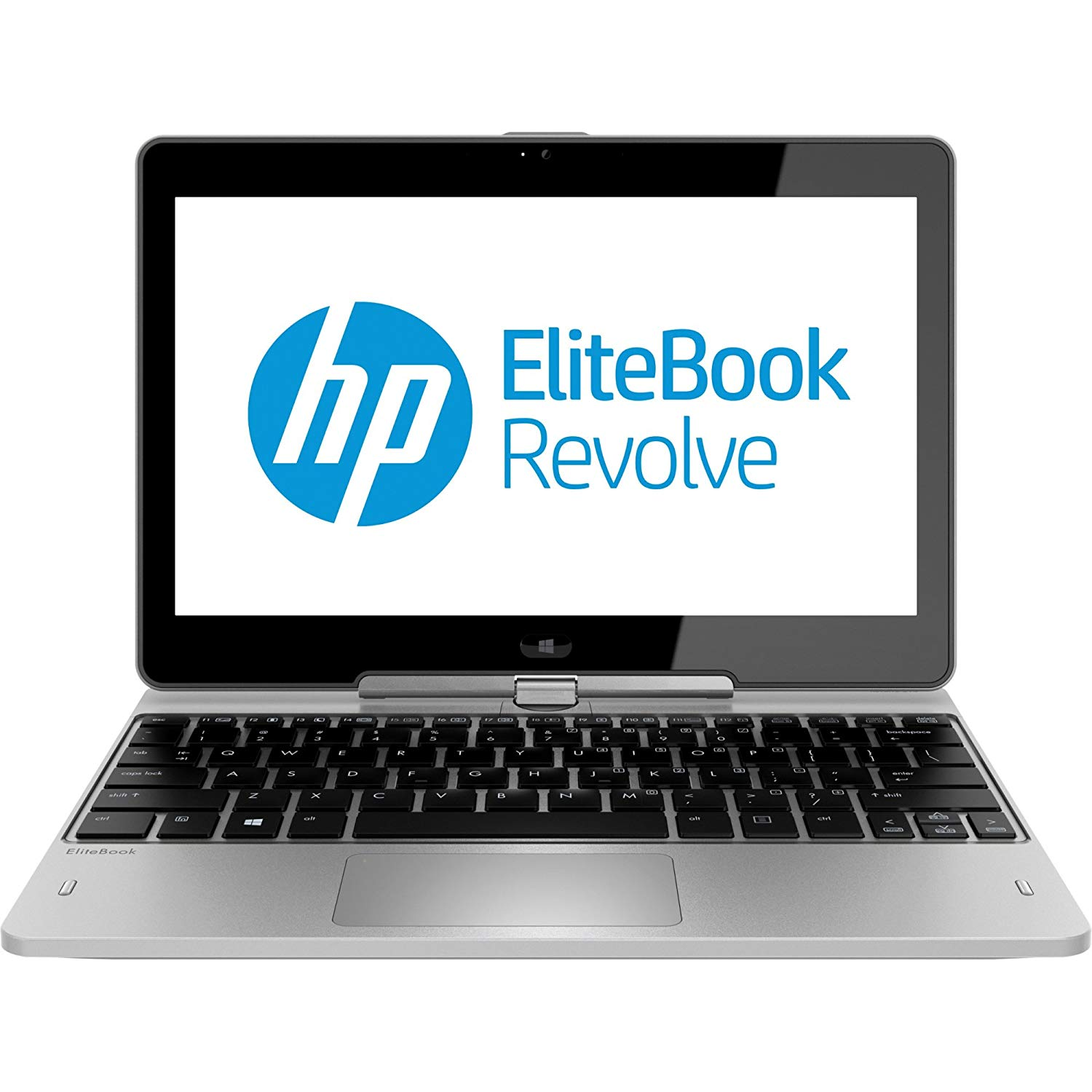 "HP Elitebook Revolve 810 G2 11.6"" Refurbished Laptop - Intel Core i3 4010U 4th Gen 1.70 GHz 4GB 256GB SSD Windows 10 Home 64-Bit - Webcam, Touchscreen"