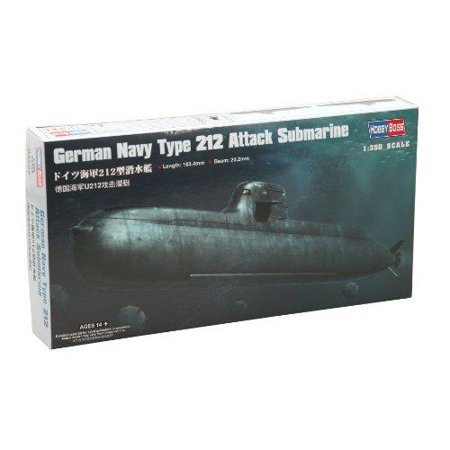 HobbyBoss 83527 German Type 212 Submarine 1/350 Scale Plastic Model Kit