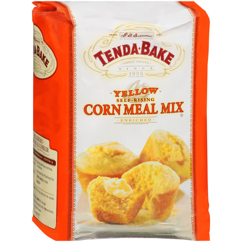 Tenda-Bake Enriched Self-Rising Yellow Cornmeal, 5 lb