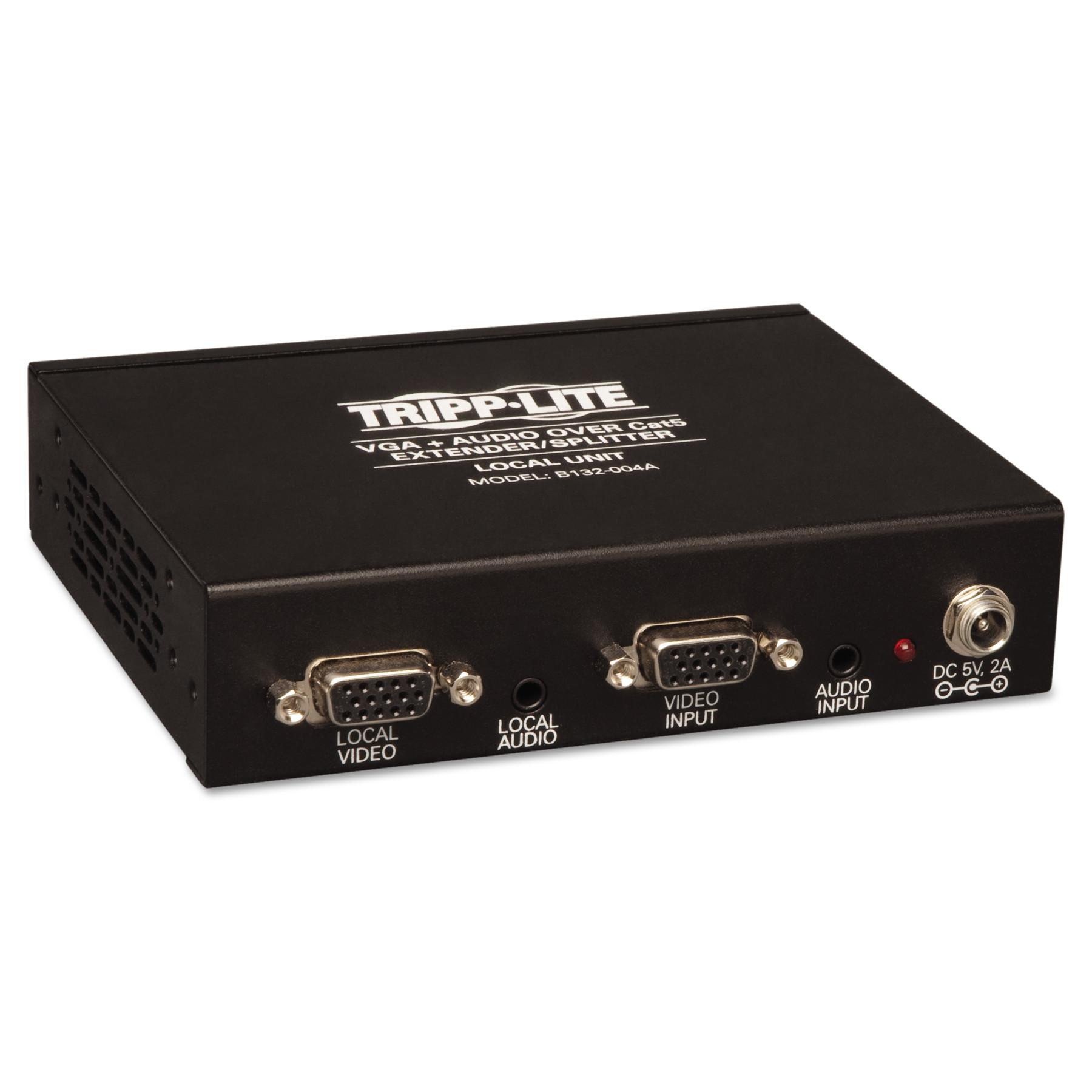 Tripp Lite 4-Port VGA Plus Audio Over CAT5 Transmitter