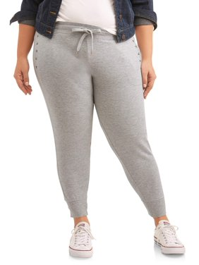 42b93950803d1b Free shipping. Product Image New York Laundry Athleisure Women's Plus Pant  Jogger with Stud Detail