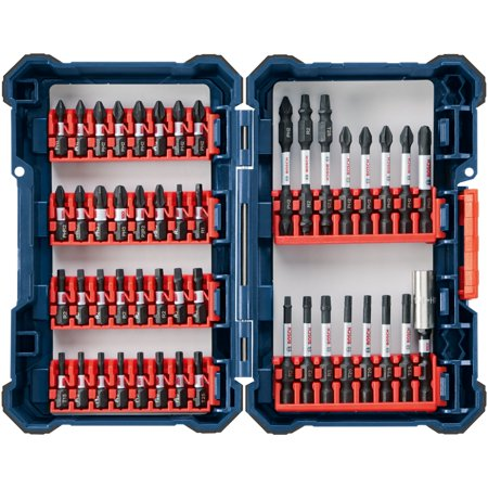 Bosch SDMS48 48-Piece Impact Tough Screwdriving Custom Case System