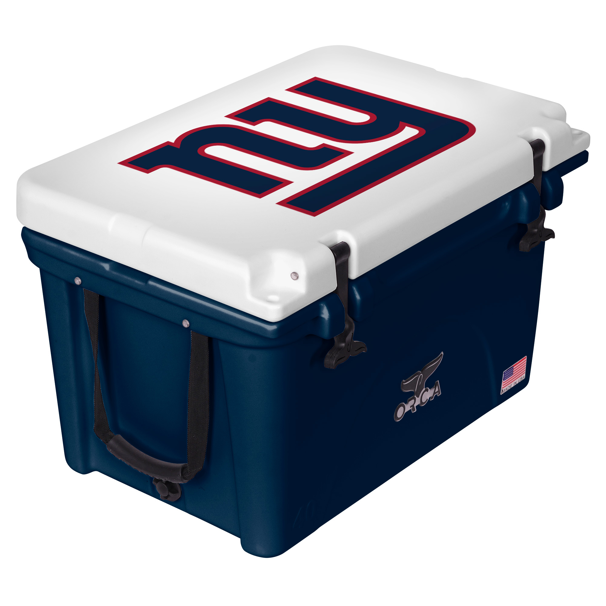 New York Giants ORCA 40-Quart Hard-Sided Cooler - Blue/White - No Size
