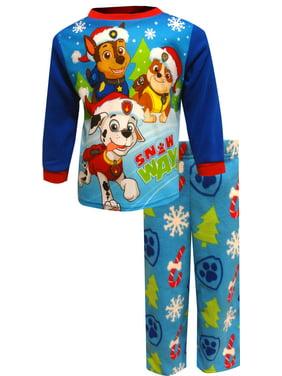 Nickelodeon Boys' Paw Patrol Christmas Fleece Infant Pajamas