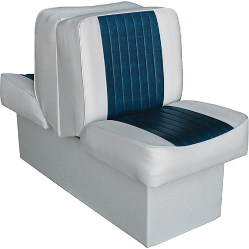 "Wise Ski Boat 10"" Base Lounge-Grey-Navy"