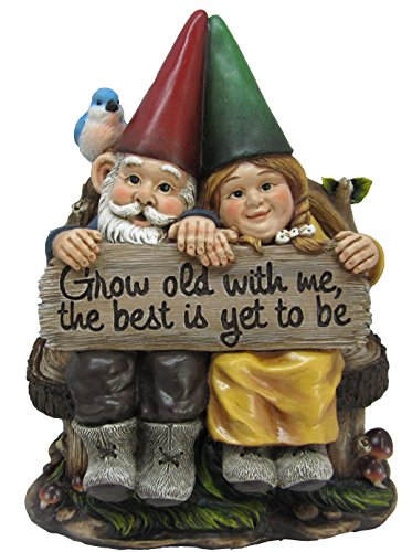 ... Ih Casa Decor DW 36696 Garden Gnome Couple Statue