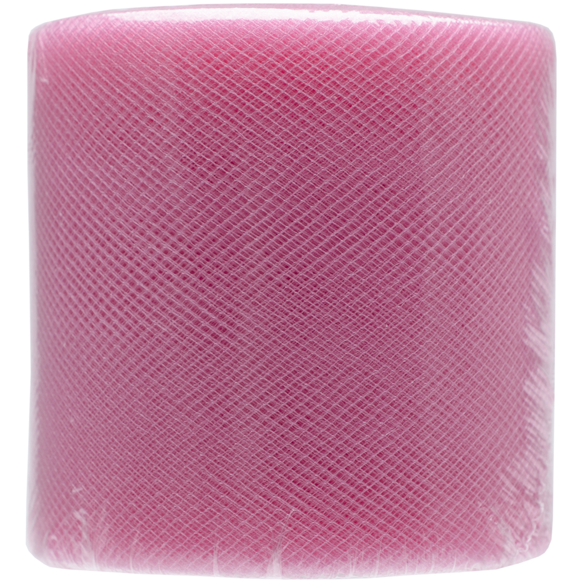 "Falk Diamond Net Mesh Spool 3"" Wide 25yd-Paris Pink"