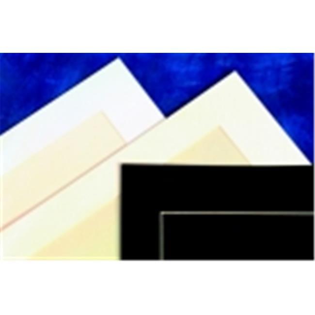 Sax Premium Smooth Surfaced Pre-Cut Mat - White, Pack 10
