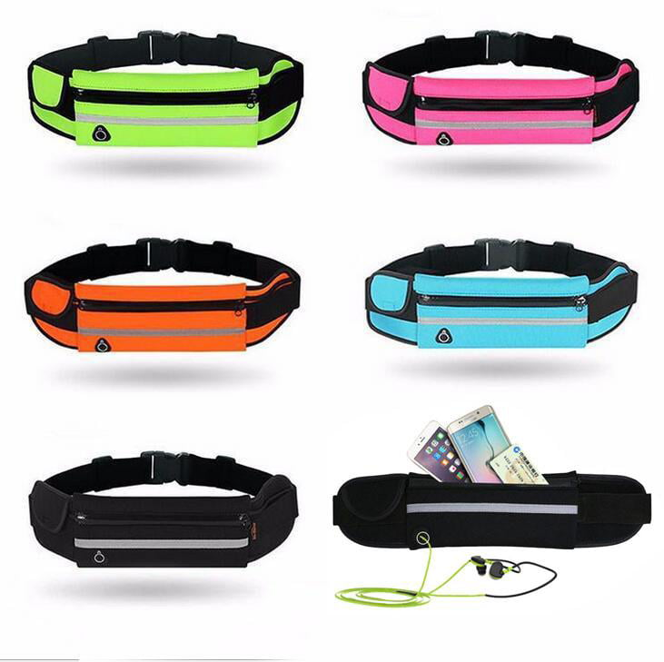 Travel Waist Pack,travel Pocket With Adjustable Belt Flowers Pattern Running Lumbar Pack For Travel Outdoor Sports Walking