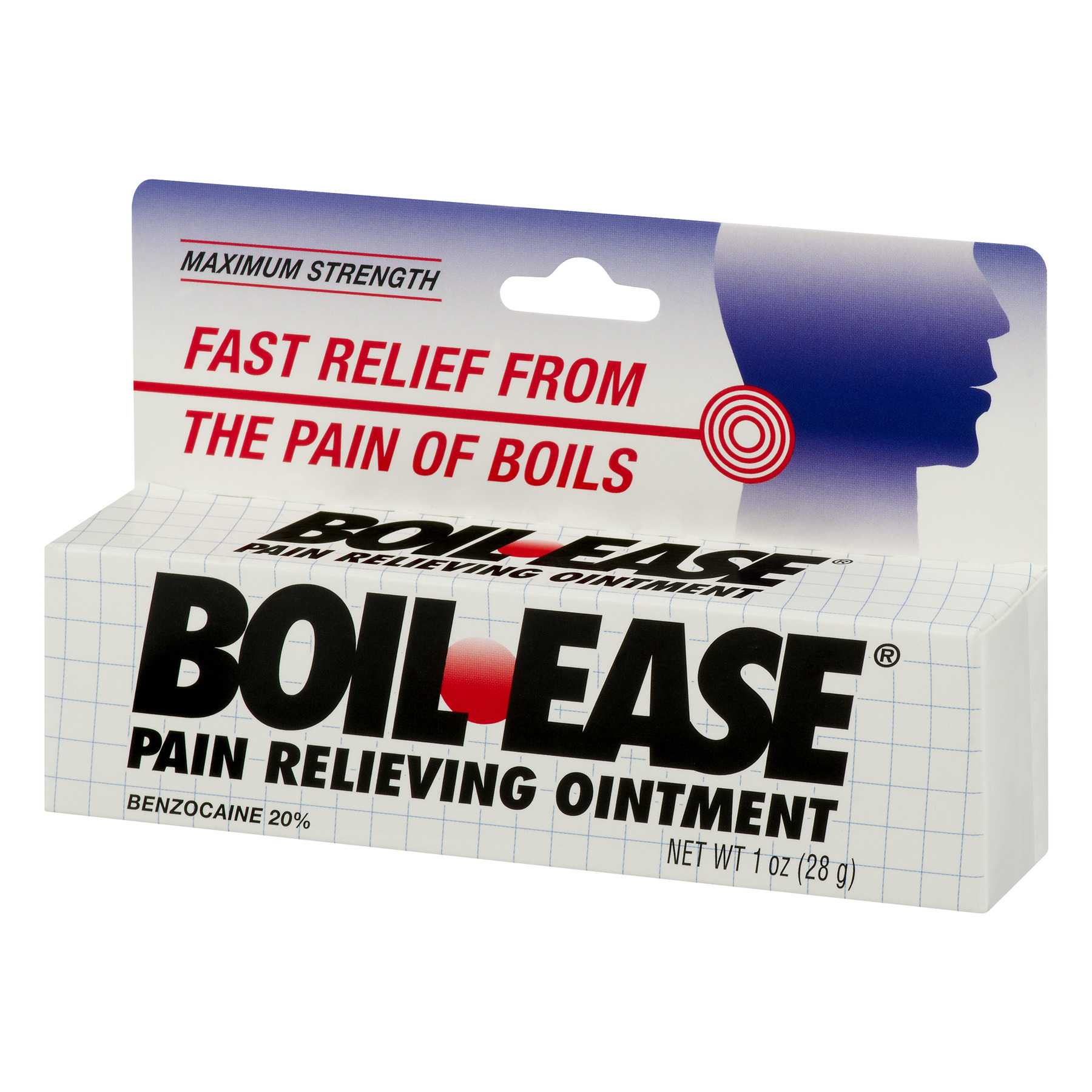 Boil Ease Maximum Strength Pain Relieving Ointment 1 Oz Walmart