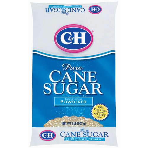 C&H: Pure Cane Powdered Confectioners Sugar, 2 Lb