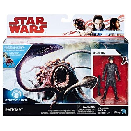 Star Wars Force Link Rathtar & Bala-Tik Figure