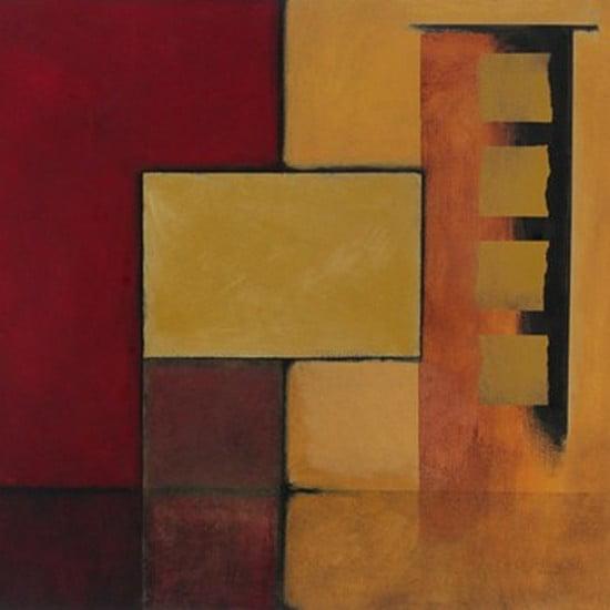 Geometric Abstract II Poster Print (24 x 24)