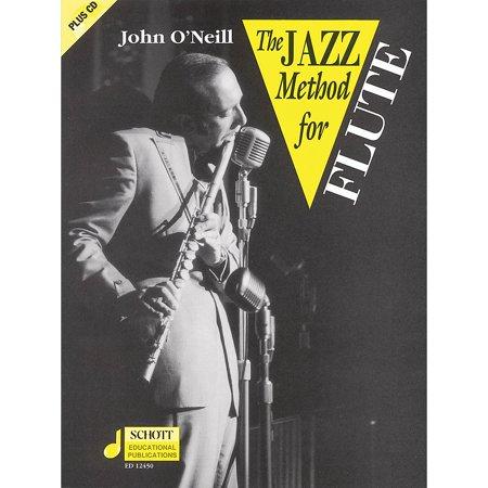 Schott The Jazz Method for Flute Schott Series Softcover with CD Jazz Flute Cd