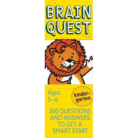 Brain Quest Decks: Brain Quest Kindergarten, Revised 4th Edition: 300 Questions and Answers to Get a Smart Start (Other) - Brain Quest Preschool