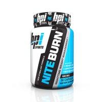 BPI Sports Nite Burn Fat Burner, Unflavored, 30 Servings