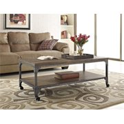 Ameriwood Home Furniture Cecil Coffee Table, Rustic Finish