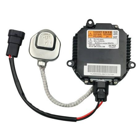 HID Ballast with Ignitor - Headlight Control Unit - Replaces# 28474-8991A, 28474-89904, 28474-89907, NZMNS111LANA - Fits Nissan Murano, Maxima, Altima, 350Z, Infiniti QX56, G35, FX35 - Xenon Ballast ()
